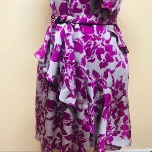 Elle Dresses - Elle ruffled floral dress